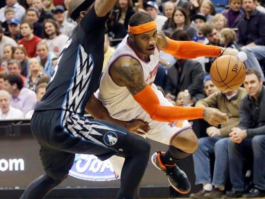NBA Carmelo Anthony