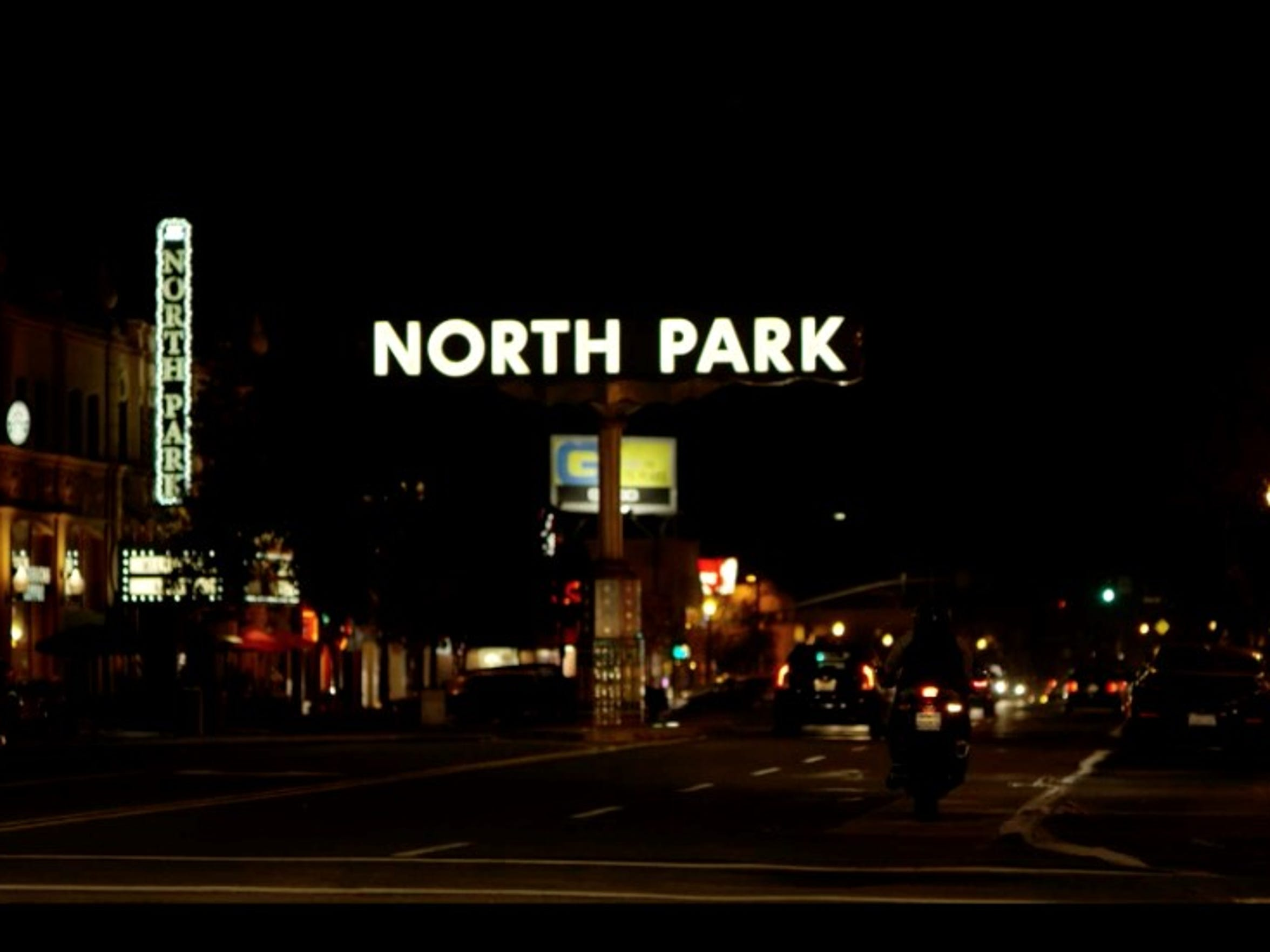 North Park has a hipster vibe perfect for a night on