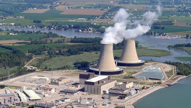 Fermi 2 nuclear power plant.