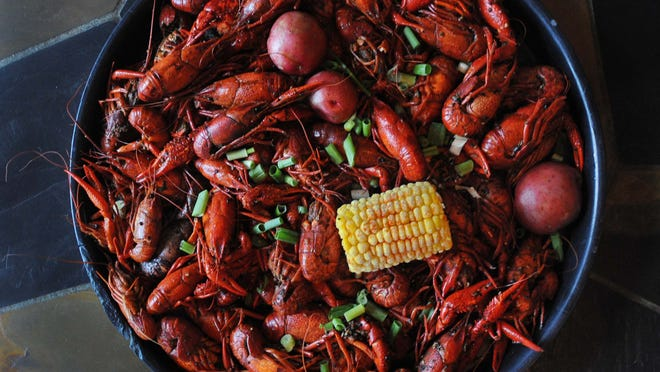Borel's Cajun & Creole Cookery offers a crayfish boil dinner May 8.