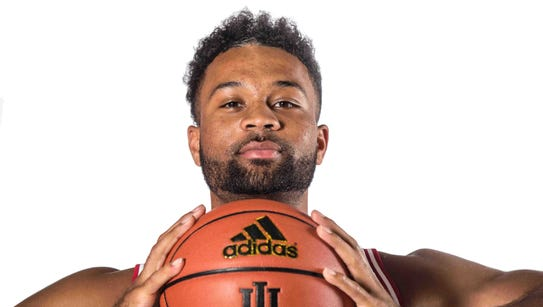 James Blackmon Jr. is photographed during Indiana University's