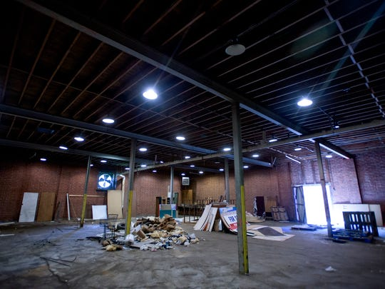 The future home of That's My Child, a community center for kids in Montgomery, Ala., on Friday March 10, 2017. The Black to the Future fundraiser will raise money for the facility.