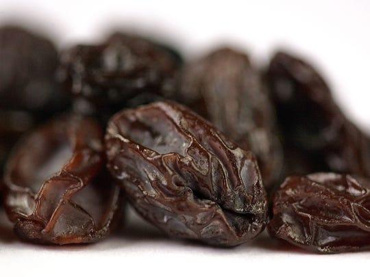 California seedless raisins