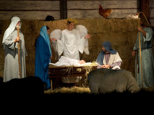 The Outdoor Living Nativity is Saturday and Sunday at Indian River Presbyterian Church in Fort Pierce.