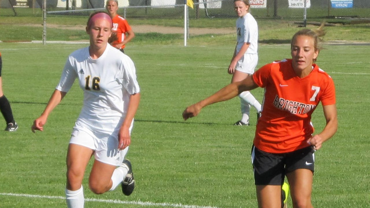 Brighton's Emma Shinsky, Livingston County's Player of the Year, talks about the high school soccer experience. She resisted pressure from her club team to not play for her school.