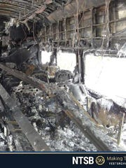 Photo from the NTSB probe into the Valhalla train crash