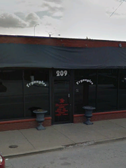 Tryangles is a gay bar located in downtown Louisville.
