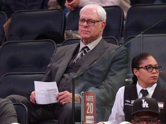 Phil Jackson Knicks-Wizards