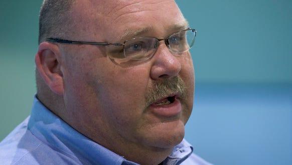 Alabama EMA Director Art Faulkner looks on as the Alabama