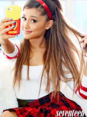 """Ariana Grande poses for """"Seventeen"""" magazine."""