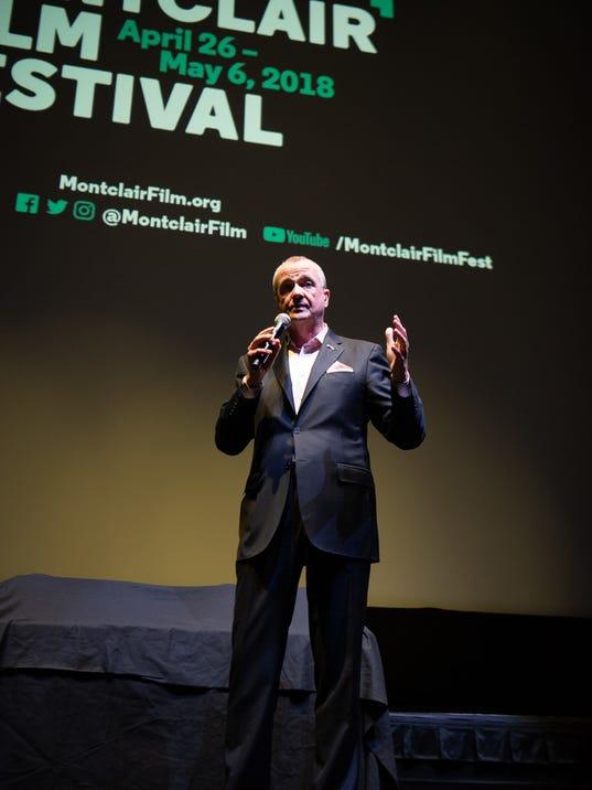 PHIL MURPHY AT MONTCLAIR FILM FESTIVAL