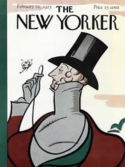 The cover of the first issue of The New Yorker, from 1925.