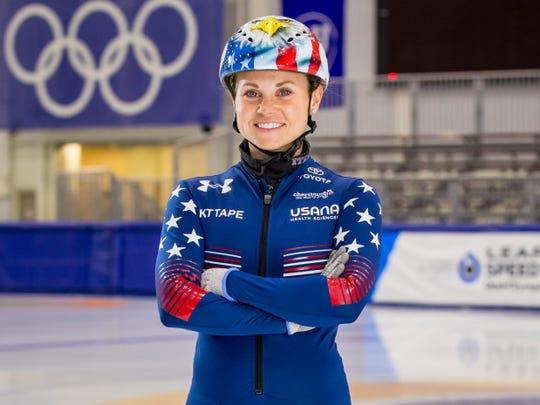 Jessica Kooreman, Olympics short-track speedskater.