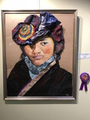 Works by artists from J.P. Stevens High School will