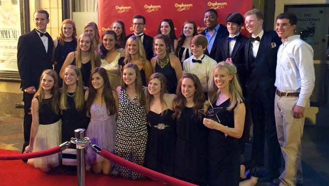 """Jackson Christian Theatre's production of """"Beauty and the Beast"""" won Outstanding Costume Design at the Orpheum Awards in Memphis Monday night."""