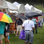 The 2014 Penrod Arts Fair at the Indianapolis Museum of Art.