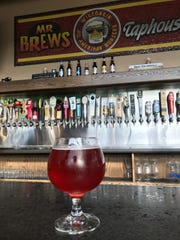 Cherry Limefeld from Fifth Ward Brewing is a tart refreshing summer beer.