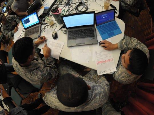 Po'oihe 2015 Cyber Security Exercise part of Exercise Vigilant Guard/Makani Pahili 2015