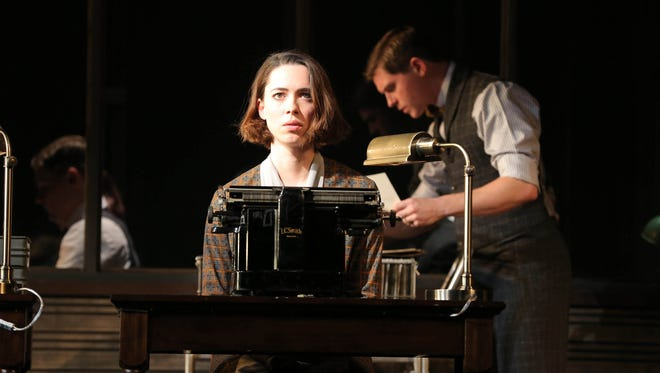 """Rebecca Hall as """"Helen"""" in a scene from the play 'Machinal.'"""