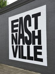 This version of the East Nashville logo, designed by