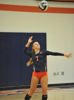 Kayla Hardy has flourished into an elite setter in the MOAC in just her first year doing so.