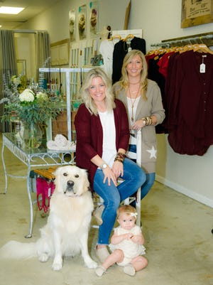 You don't get the personalization with Amazon that you get shopping at Maggie & Mae Boutique and Just One More - and you definitely don't laugh as much, Ashley Siebrecht says.