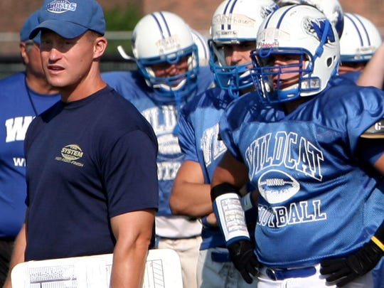 Ken Levine served as head coach of the Oshkosh West football program for 17 years.