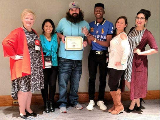 BPCC SGA-STUDENT LIFE WIN APCA's SOUTH CENTRAL EVENT OF THE YEAR