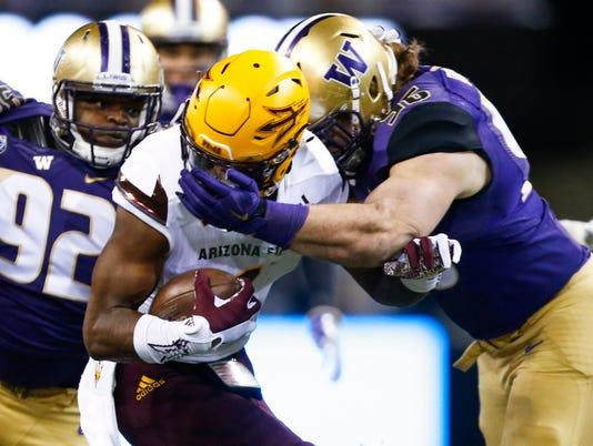 NCAA Football: Arizona State at Washington