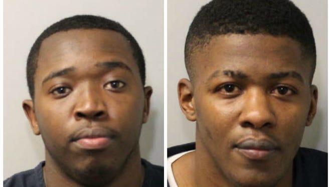 Tradarius Gaines, left, and Javaris Jones