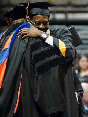 Wetumpka High School held its graduation on May 23 2017, in the Acadome on the campus of Alabama State University.