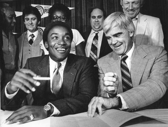 On July 31, 1981, Detroit Pistons general manager Jack