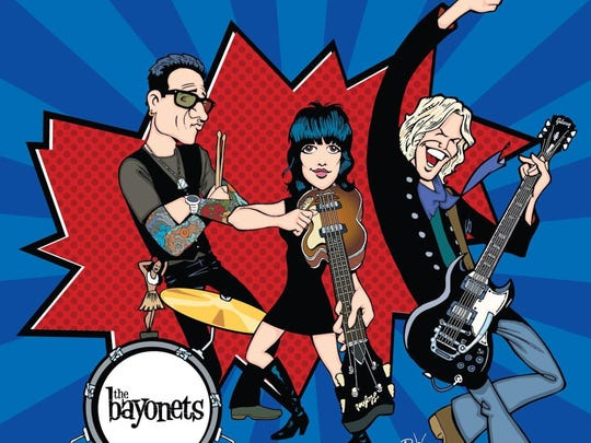 """The Bayonets are a JEM recording act whose members include guitarist Brian Ray, also the guitarist and bassist of Paul McCartney's band, and Oliver Lieber, son of the Rock and Hall of Fame songwriter Jerry Lieber of """"Heartbreak Hotel"""" and """"Smokey Joe's Cafe"""" fame."""