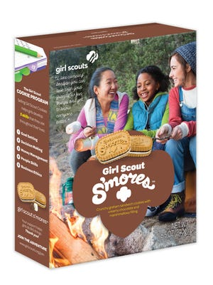 Girl Scout S'mores cookies.