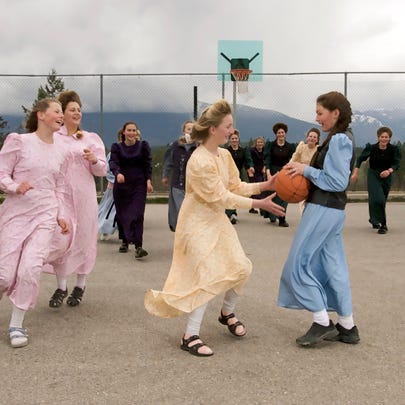 Students at Bountiful Elementary-Secondary School play
