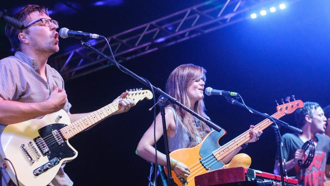Rock band Kopecky will perform as part of the 2016 Virginia Avenue Folk Fest.