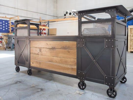 Real Industrial Edge Furniture brings creative, utilitarian