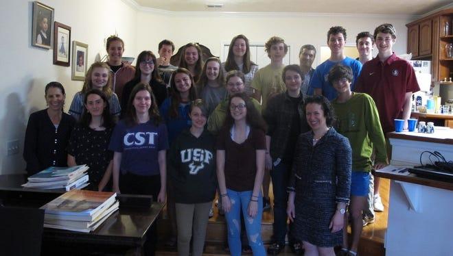 Tallahassee Jewish Teen Philanthropy has completedits 10th year.