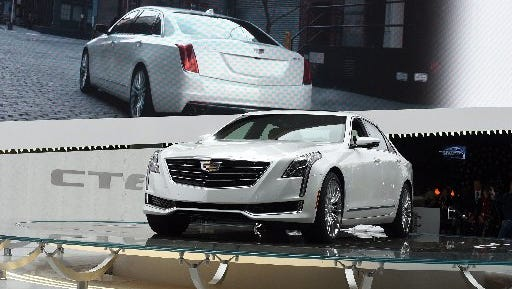 Cadillac will begin shipping the 2016 CT6 later this year from the Detroit-Hamtramck assembly plant.
