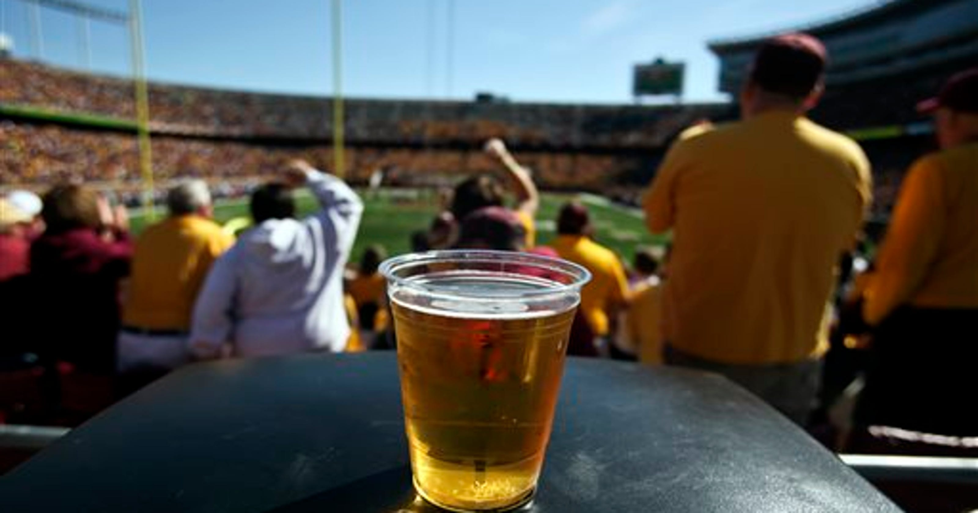 Map: NCAA college football stadiums where you can buy beer