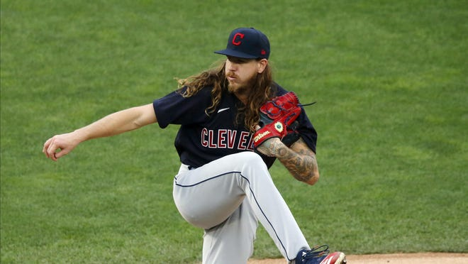 Former Indians pitcher Mike Clevinger thanks the team and fans for helping further his career.