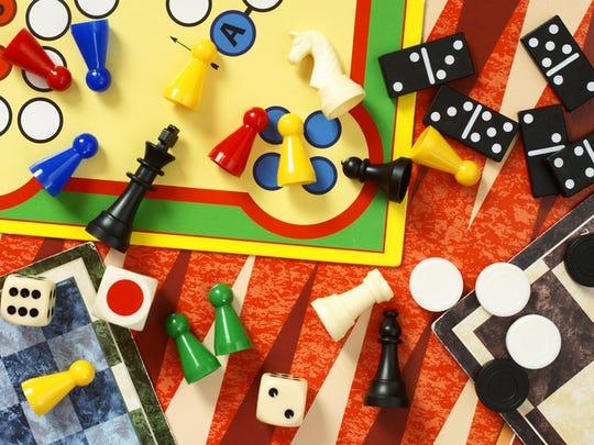 Board games.
