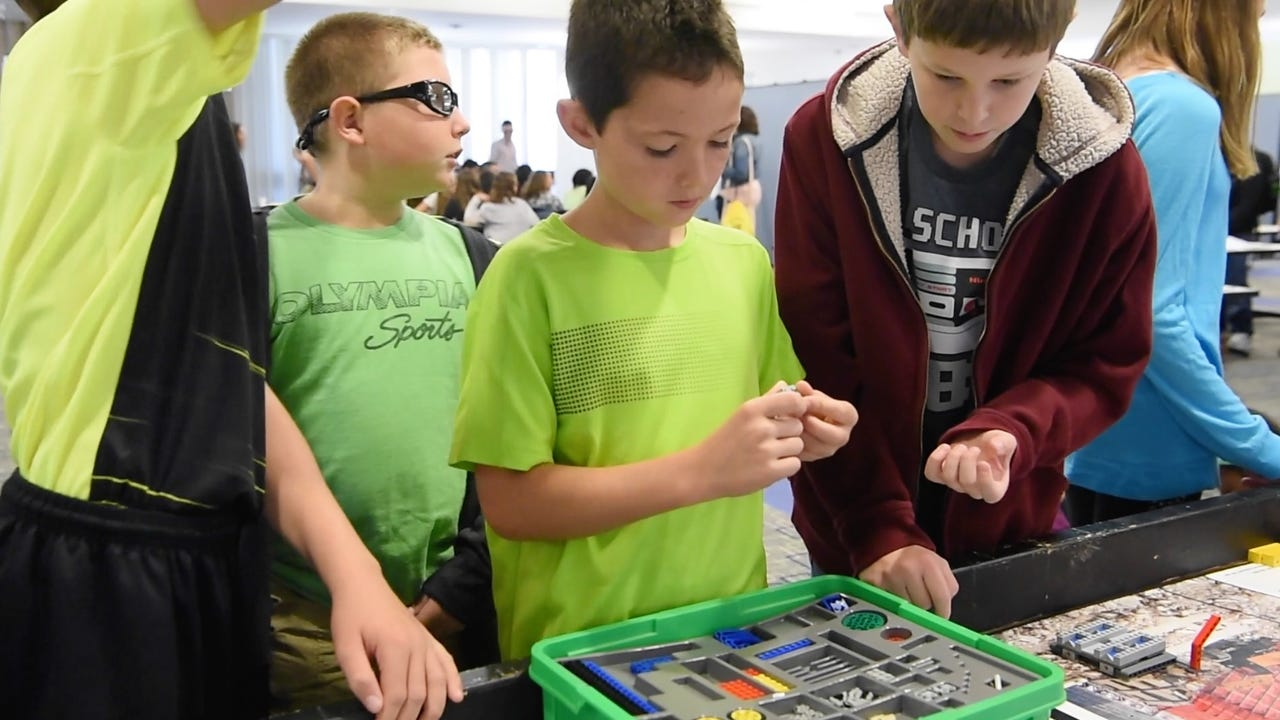 In celebration of National Manufacturing Day, GlobalFoundries allowed local students interested in STEM (Science, Technology, Engineering, Math) to participate in a series of fun games and exercises.