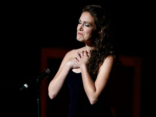 Opera Memphis soprano Chelsea Miller performs in honor