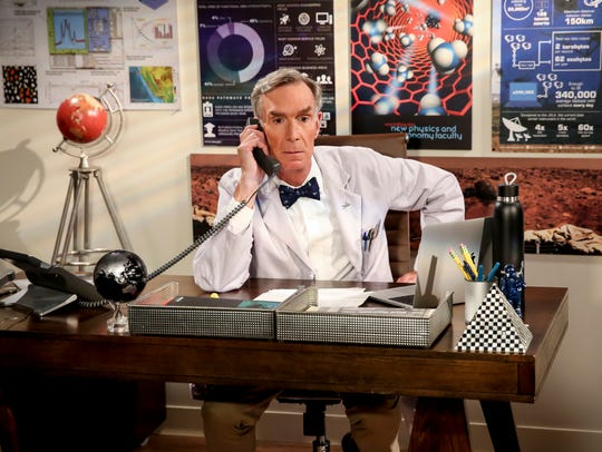 Bill Nye: The science guy, who first appeared in Season