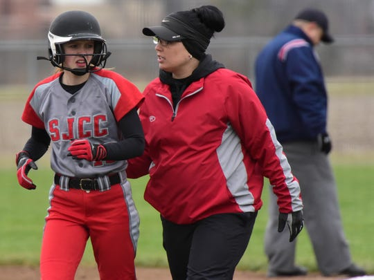 SJCC coach Sarrah Ottney has a special bond with her