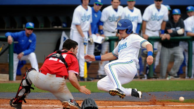 The UWF baseball team fell on the final day of the Gulf South Conference baseball tournament.