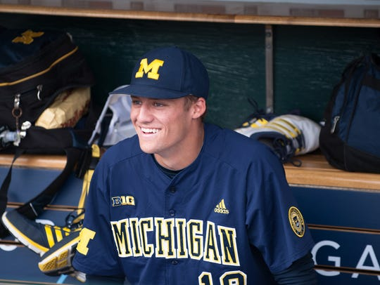 Jake Bivens (18) of the Wolverines has signed to join