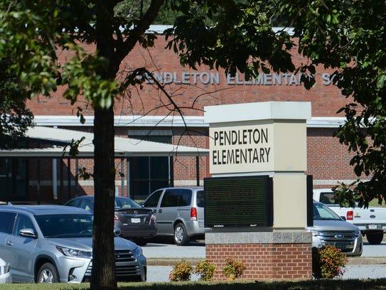 Pendleton Elementary School in Pendleton.