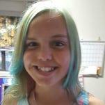 Aubrey Sullivan, 12, has Hodgkin's Lymphoma.